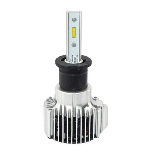 Brightest H3 LED headlight replacement bulb 12V 4000lm manufacturer