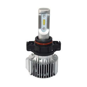 COB chip super bright PSX24W auto LED headlight for car single beam