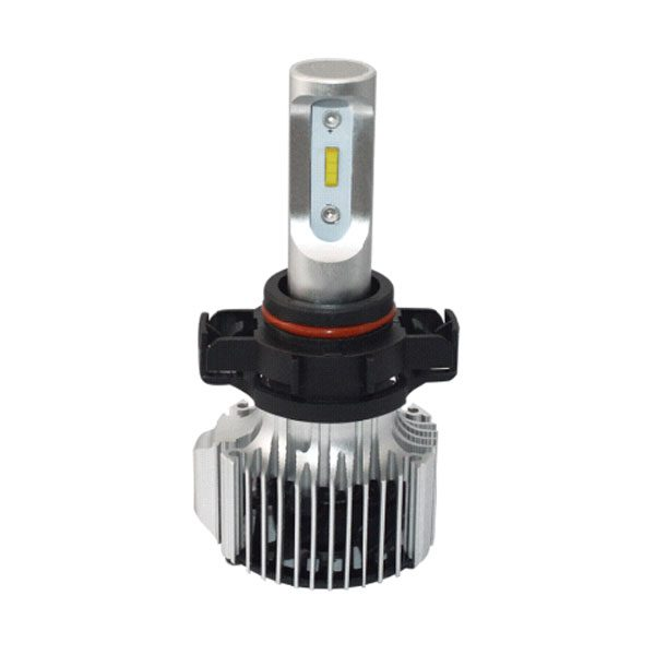 COB chip super bright PSX24W auto LED headlight for car single beam