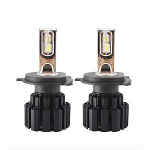 H4 LED ampul 50w 6800 lümen 100w 13600 lümen Cree çipleri ile