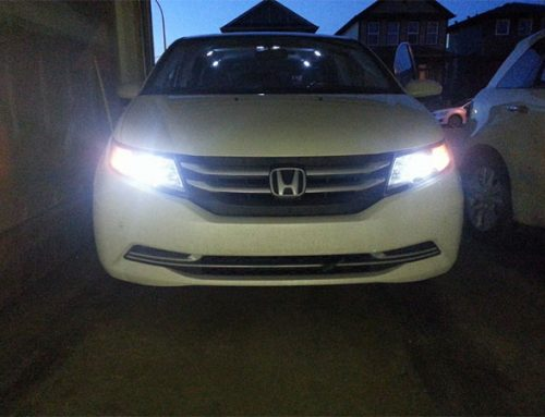 Charm and elegance of Honda LED headlights