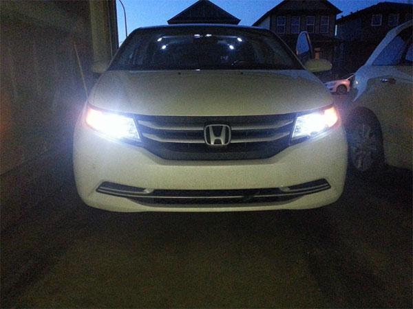 Honda LED headlight