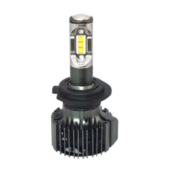 2 pcs 30 watts Osram CSP H7 car LED headlamp real brightness 4800 lm