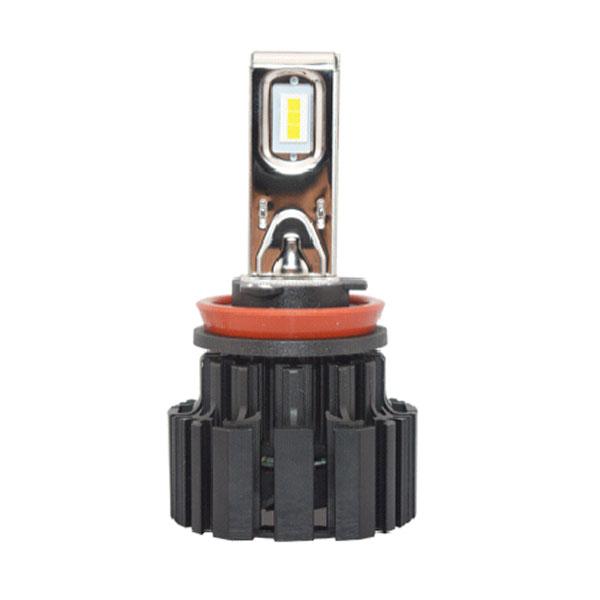 2 Pcs 50w 6600lm High Output Brightest H11 Led Headlight