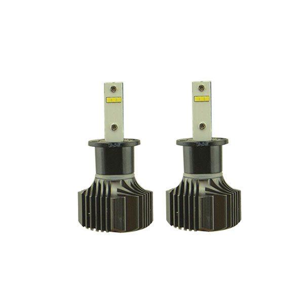 26W single beam Turbo fan H3 headlight auto accessories LED bulbs