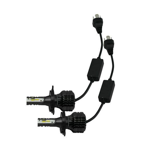Small CREE 3000LM high light intensity 20W fanless H1 LED headlight .jpg