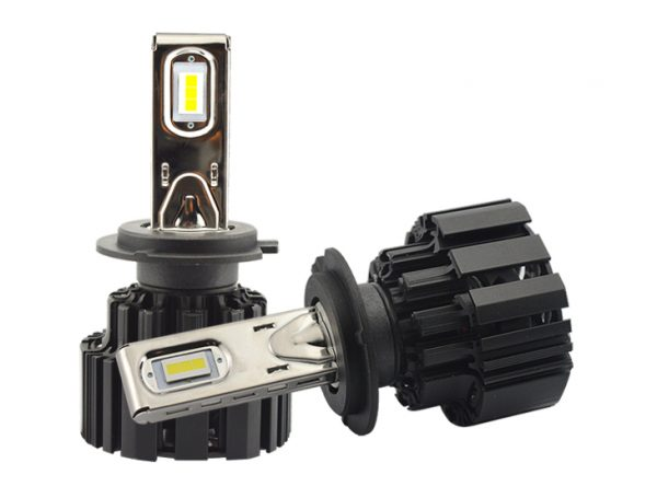 50W H7 high power low high beam led headlight bulb for car, motorcycle