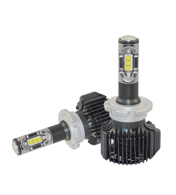 6063 heat sink aluminium 36W 4200lm flip chip LED headlight for car