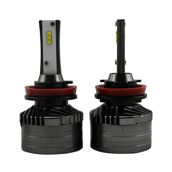 880 LED fog lamp auto headlight with turbo fan 26W 4000lm warm white