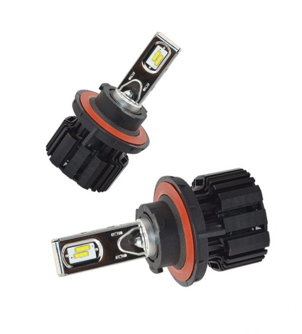 Auto LED head lamp h13 high and low beam 50W 6800lm 600K cool white