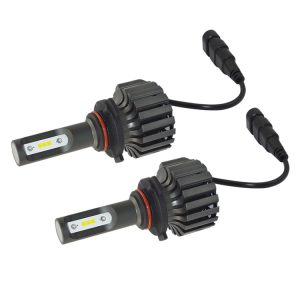 Cheapest fanless CSP H3 car led headlight bulb 36W 4000lm 6000K 12V