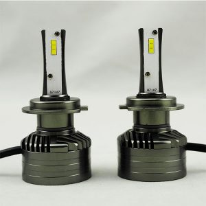 Double sides 26W 4000lm h7 car led headlight even light distribution