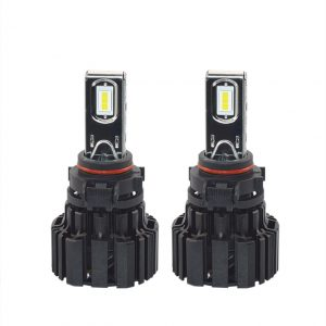 High power PS24 LED car Headlight low high beam 50W 6800LM copper PCB