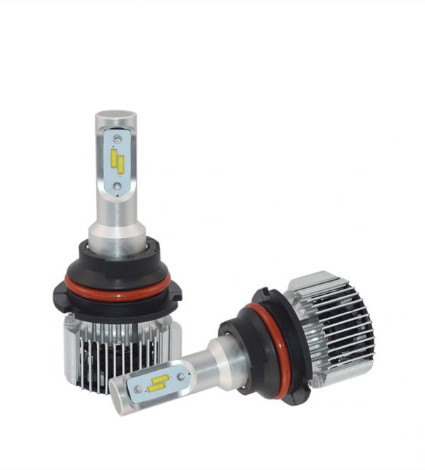 high brightness waterproof 36w 4000lm 9004 led car headlight dual beam